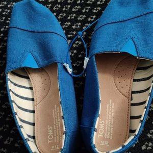Men's Dodger blue Toms